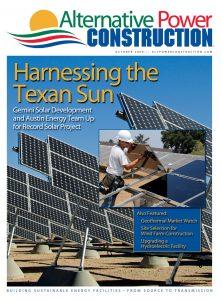 Alternative Power Construction October 2009 cover