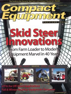 Compact Equipment October 2002 cover