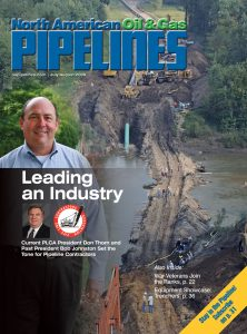 North American Oil and Gas Pipelines July-August 2009 cover
