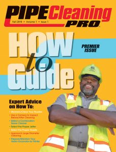 Pipe Cleaning Pro November 2019 Cover