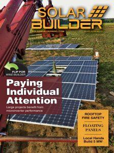 Solar Builder March-April 2012 cover