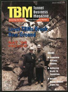 TBM: Tunnel Business Magazine January-February 1998 cover