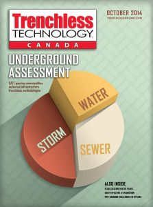 Trenchless Technology Canada October 2014